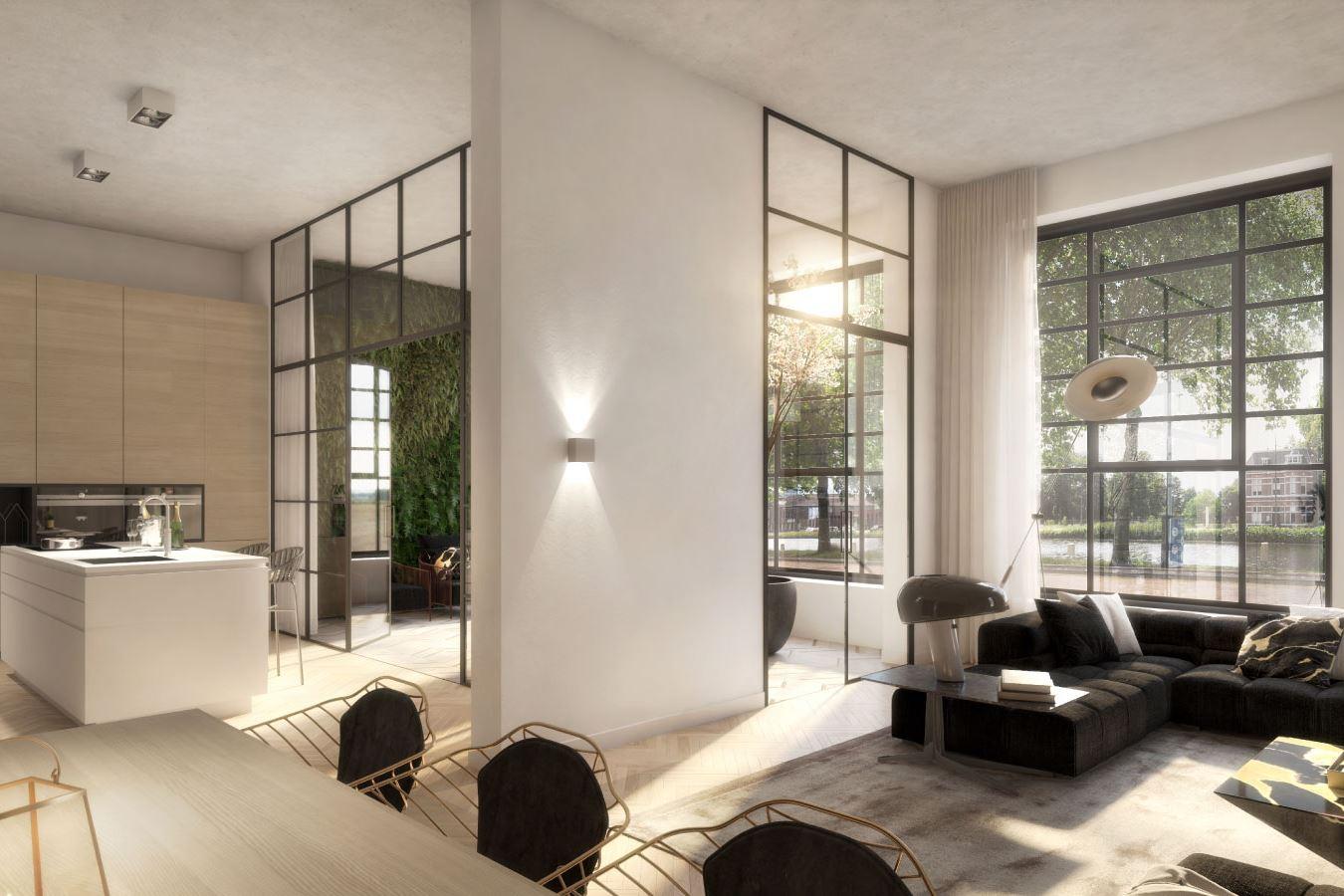 Bekijk foto 3 van E.13   Tussenappartement   E5   Oranjekade (Bouwnr. 13)