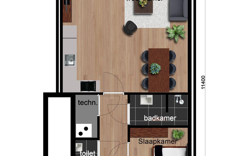 Bekijk foto 2 van Type A-3 tussenwoningen