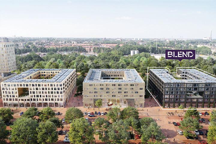 99 huurappartementen / 14 maisonnettes Blend Utrecht