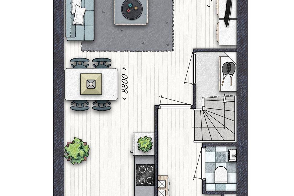 Bekijk foto 3 van Woudse Erven blok 12, bouwnummer 36