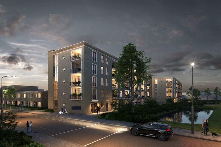 Tussenappartement met balkon (Bouwnr. 94)