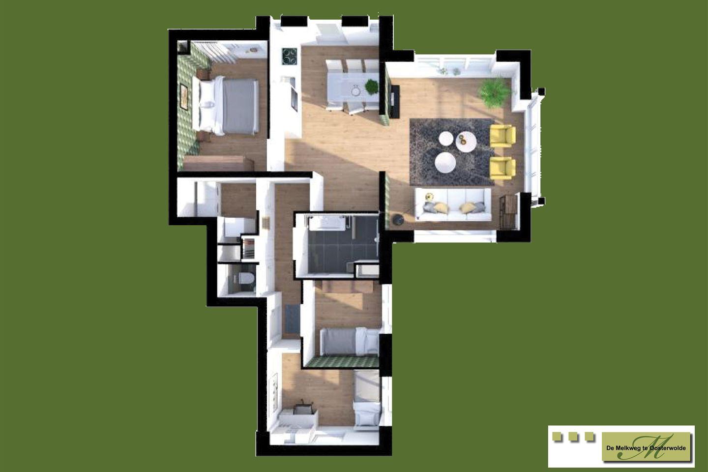 Bekijk foto 3 van Appartementen (Bouwnr. 24)