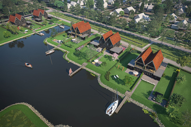 Bekijk foto 4 van Stadsdock geschakelde woning (Bouwnr. 13)