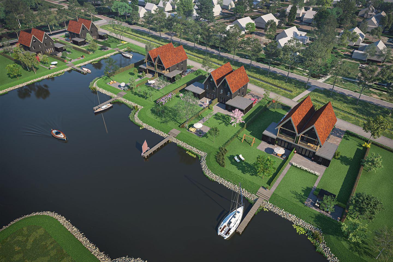 Bekijk foto 4 van Stadsdock geschakelde woning (Bouwnr. 14)