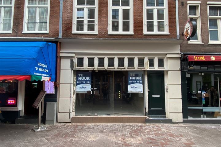 Lange Leidsedwarsstraat 21, Amsterdam