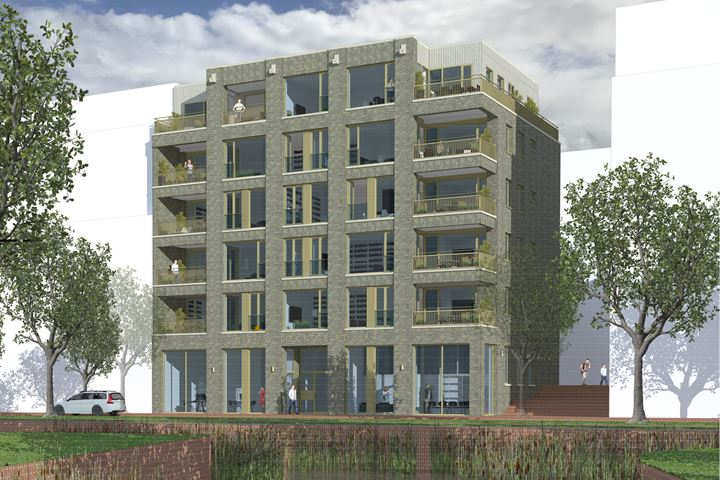 Nieuw Delftse Poort, begane grond studio B
