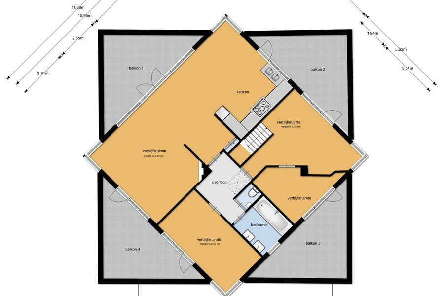 Bekijk foto 4 van Kloosterhof 2-4