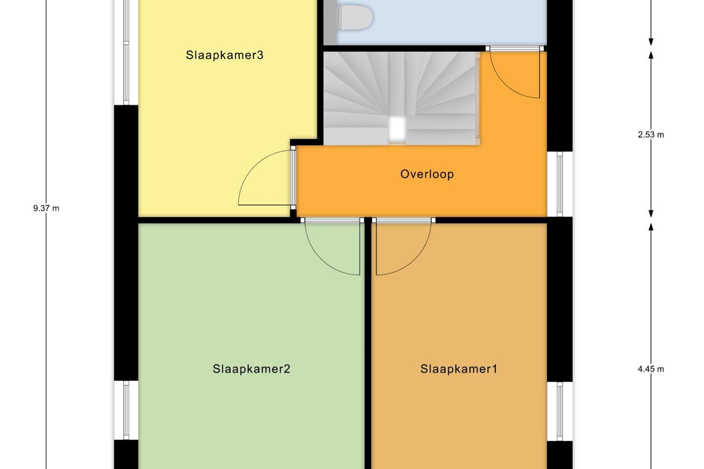 Bekijk foto 3 van Kamperfoeliewal, Geschakelde woning (Bouwnr. 2)