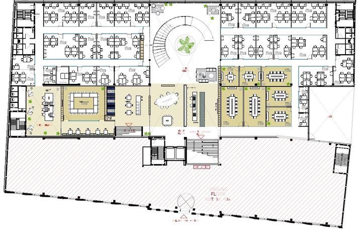 Kantoorruimte Helix verdieping 1 Utrecht