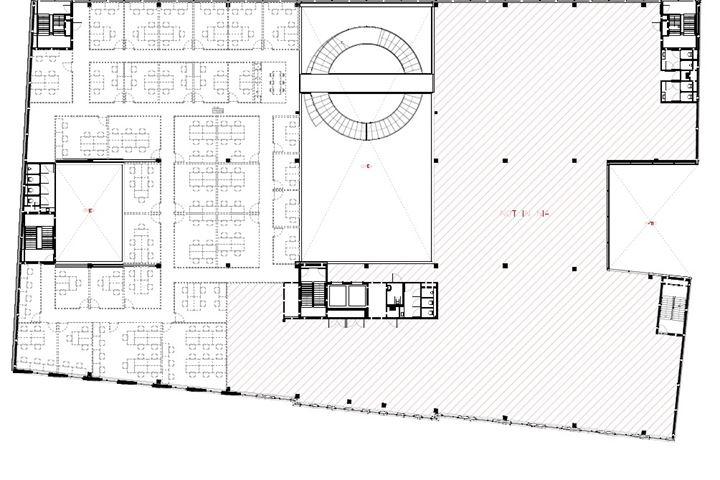 Kantoorruimte verdieping 2 Helix Utrecht