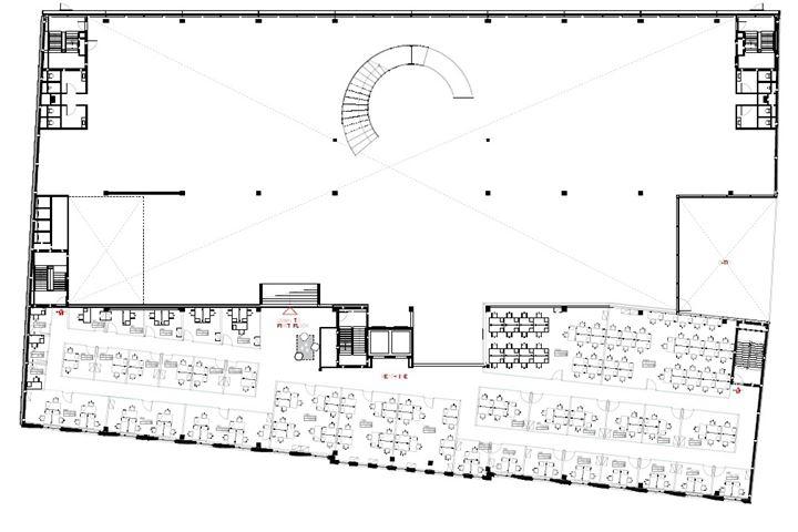 Kantoorruimte gebouw Helix beletage Utrecht