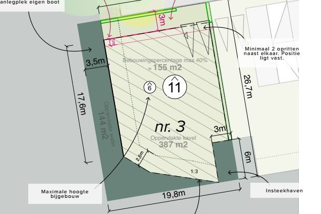 Bekijk foto 3 van De Poelen vrije bouwkavel 3 (Bouwnr. 3)