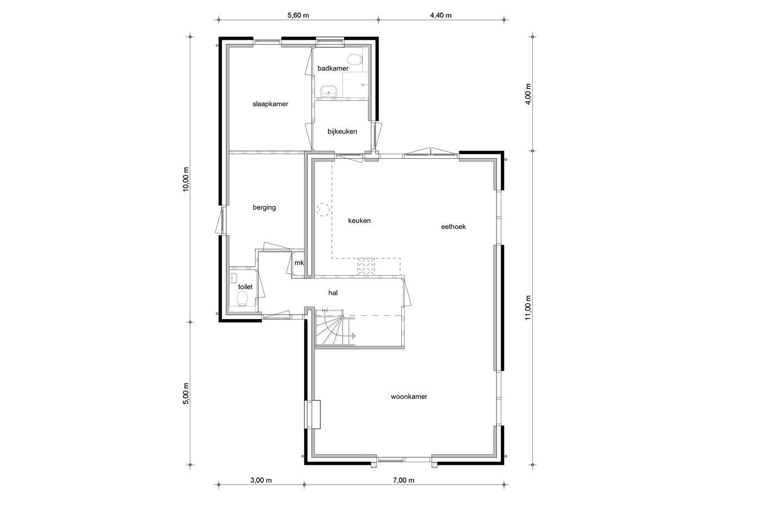 View photo 2 of Vrijstaand wonen Leek   De Hoven bnr. 12 (Bouwnr. 12)