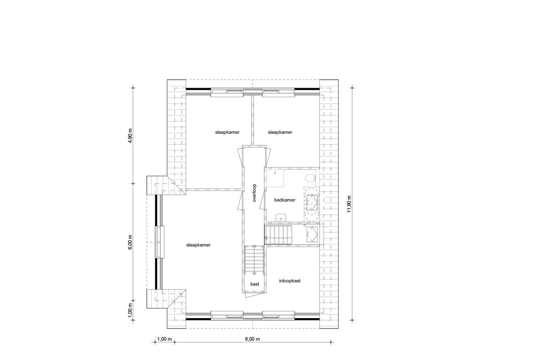 View photo 4 of Vrijstaand wonen Leek | De Hoven bnr. 13 (Bouwnr. 13)
