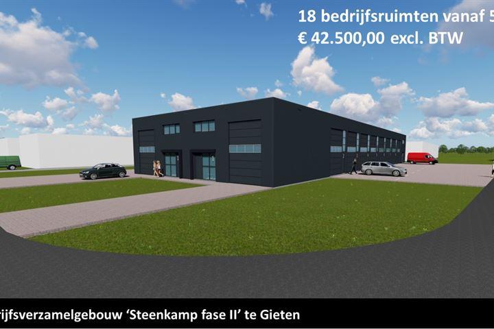 Steenkamp, Gieten