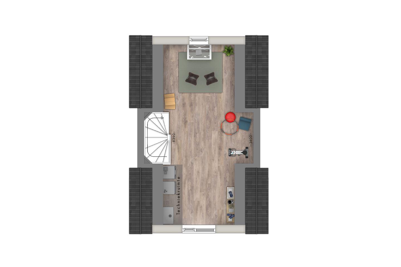 Bekijk foto 4 van Tussenwoningen (Bouwnr. 8)