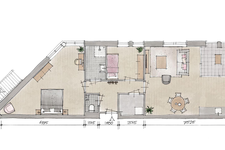 Bekijk foto 2 van Appartement V1 (Bouwnr. 1)