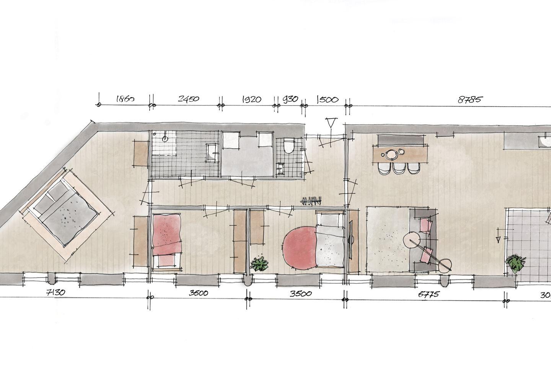 Bekijk foto 2 van Appartement V2 (Bouwnr. 2)