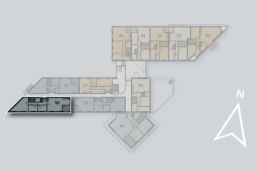 Bekijk foto 3 van Appartement V2 (Bouwnr. 2)