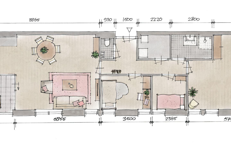 Bekijk foto 2 van Appartement V3 (Bouwnr. 3)