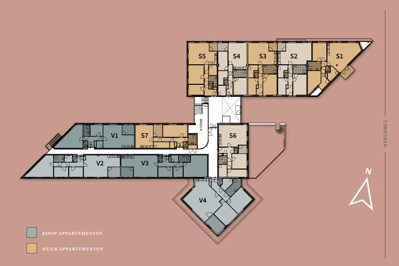 Bekijk foto 4 van Appartement V1 (Bouwnr. 1)