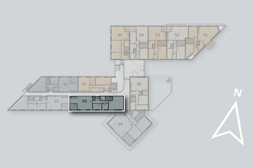 Bekijk foto 3 van Appartement V3 (Bouwnr. 3)