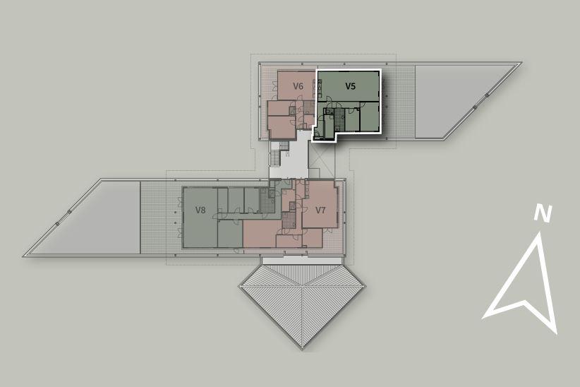 Bekijk foto 3 van Penthouse V5 (Bouwnr. 5)