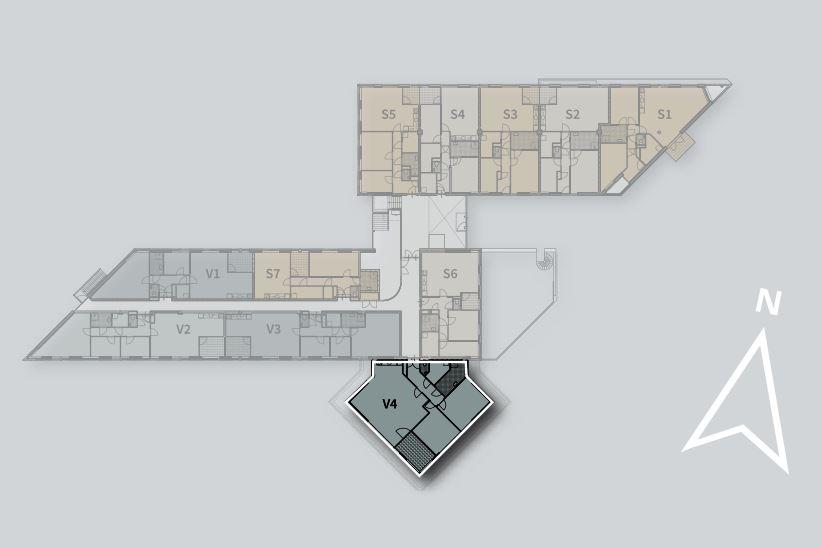 Bekijk foto 3 van Appartement V4 (Bouwnr. 4)