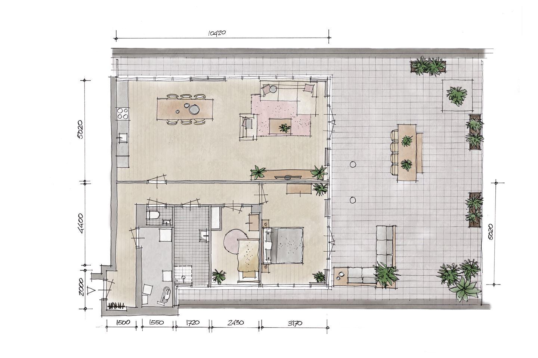 Bekijk foto 2 van Penthouse V5 (Bouwnr. 5)