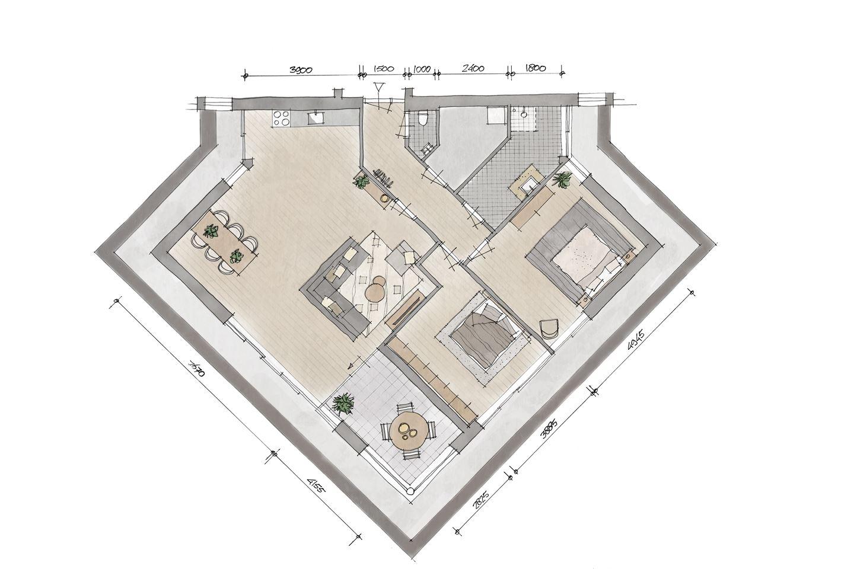 Bekijk foto 2 van Appartement V4 (Bouwnr. 4)
