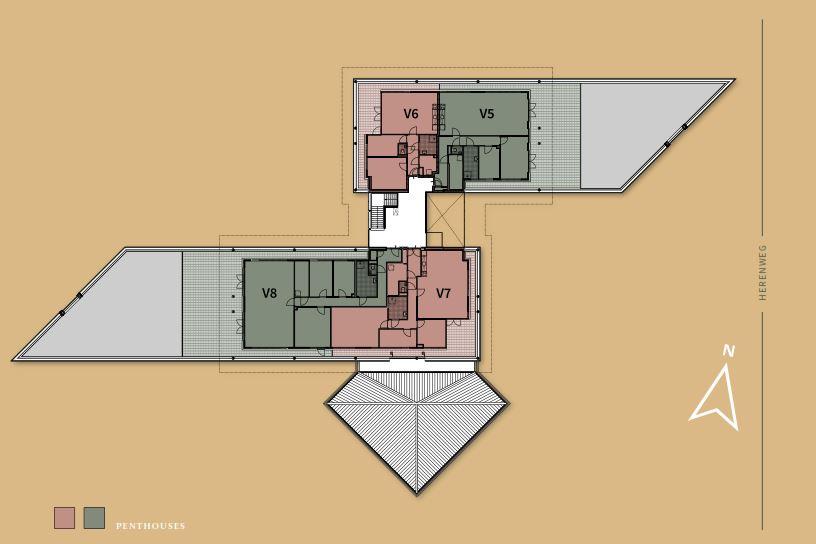 Bekijk foto 4 van Penthouse V5 (Bouwnr. 5)