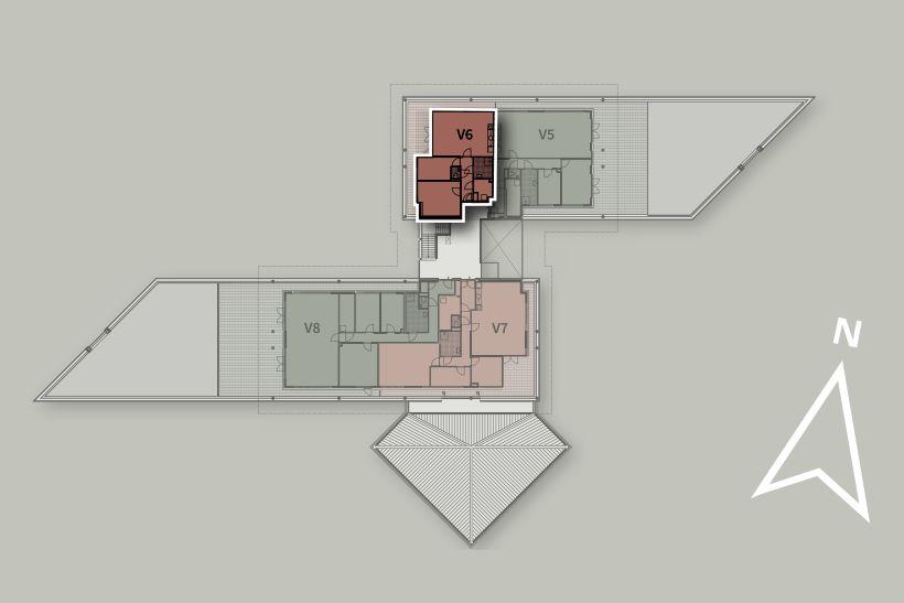 Bekijk foto 3 van Penthouse V6 (Bouwnr. 6)