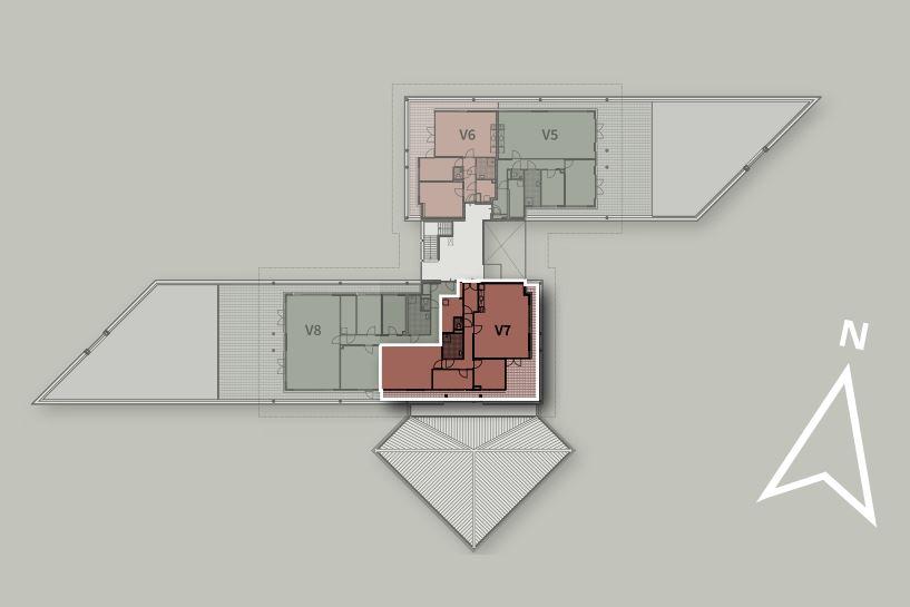 Bekijk foto 3 van Penthouse V7 (Bouwnr. 7)