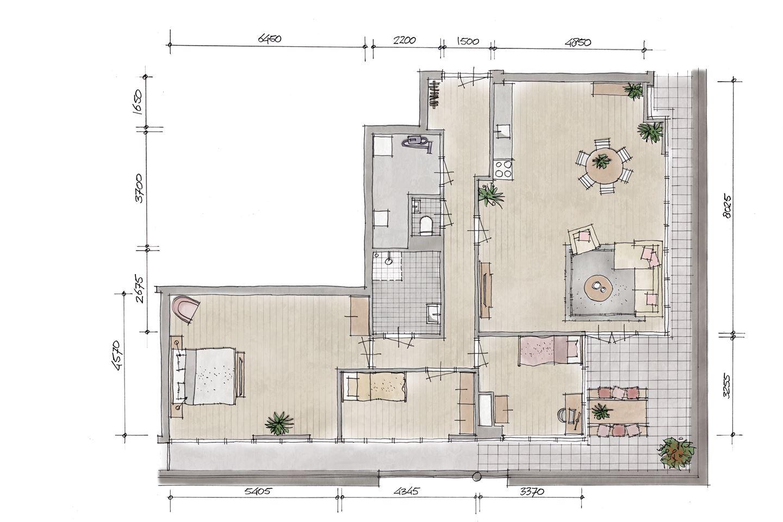 Bekijk foto 2 van Penthouse V7 (Bouwnr. 7)
