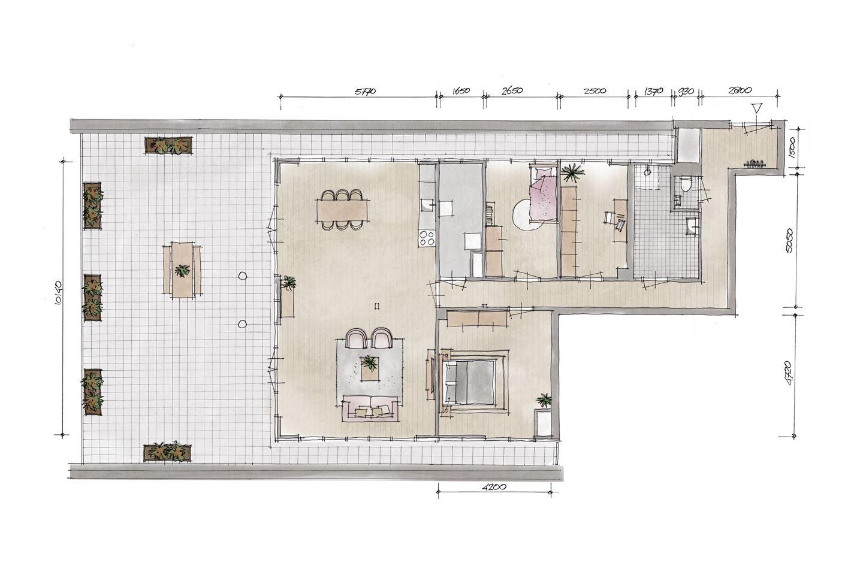Bekijk foto 2 van Penthouse V8 (Bouwnr. 8)