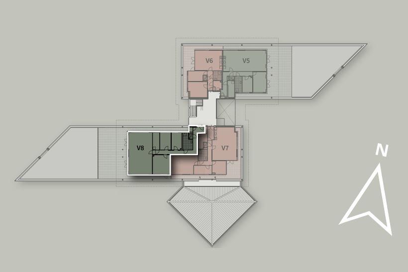 Bekijk foto 3 van Penthouse V8 (Bouwnr. 8)
