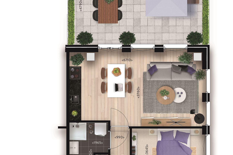 Bekijk foto 3 van Appartement (Bouwnr. 6)