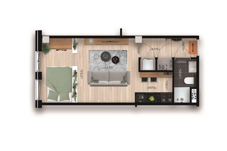 Bekijk foto 3 van Appartement (Bouwnr. 9)