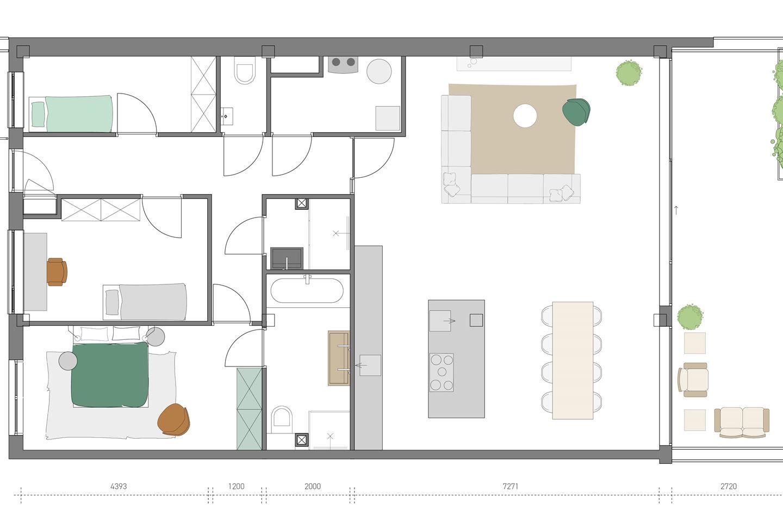 Bekijk foto 4 van Penthouses (Bouwnr. 12)