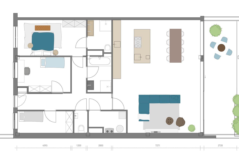 Bekijk foto 4 van Penthouses (Bouwnr. 13)
