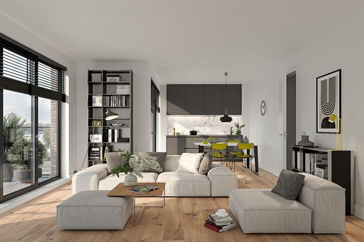 Binnenhof appartement (Bouwnr. 45)