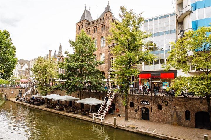 Utrecht, Oudegracht foto