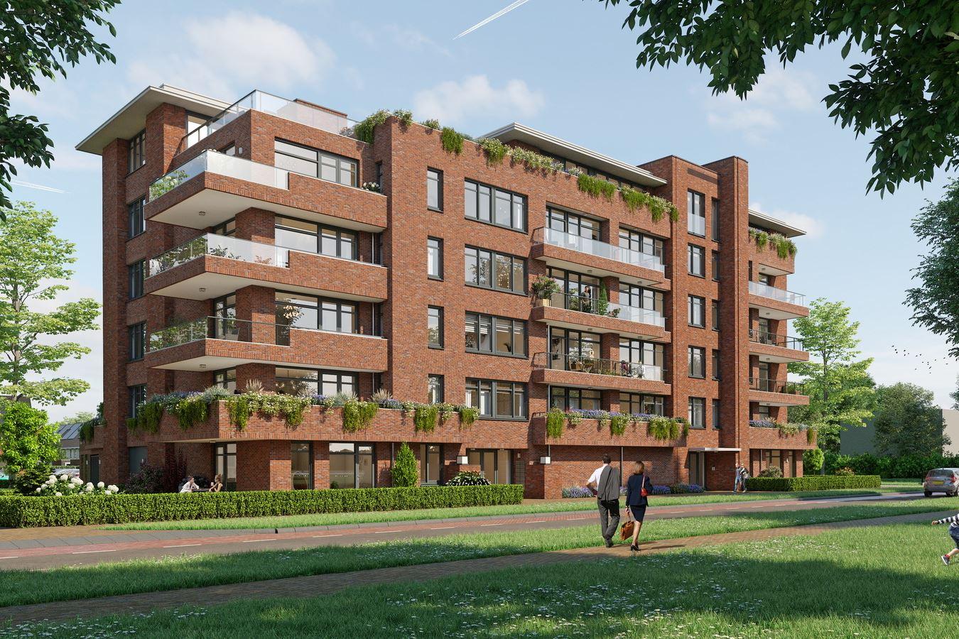 Bekijk foto 1 van Quatrebras Park Quartier II - appartementen (Bouwnr. 23)