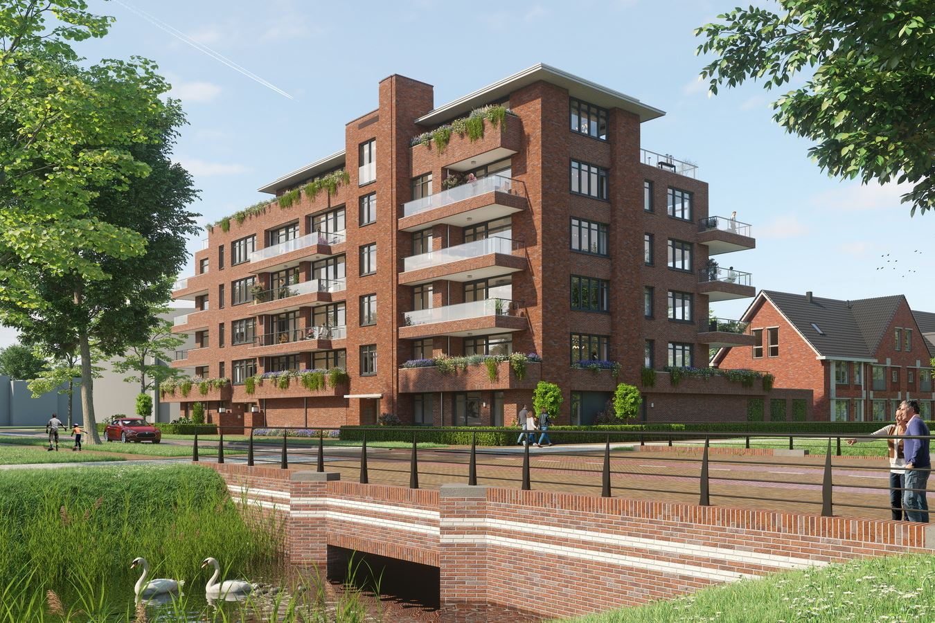 Bekijk foto 4 van Quatrebras Park Quartier II - appartementen (Bouwnr. 23)