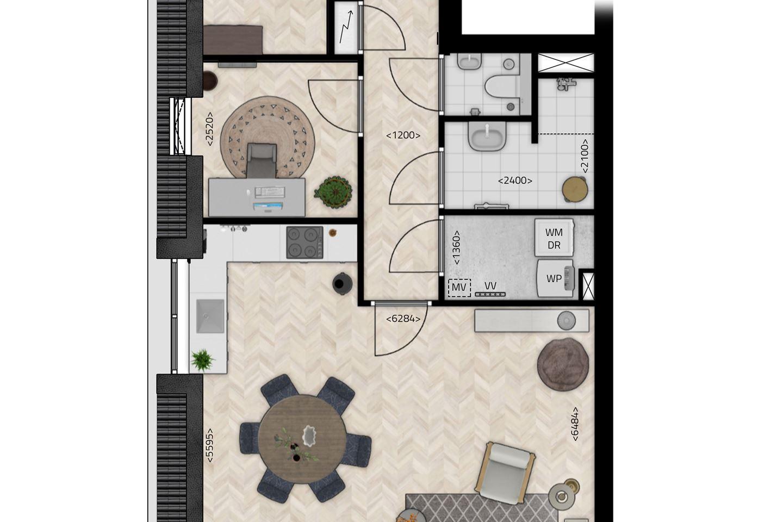 Bekijk foto 5 van De Stippe Appartement 1 D