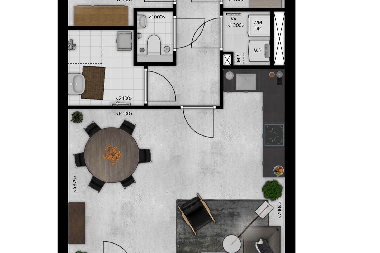 Bekijk foto 5 van De Stippe Appartement 2 E