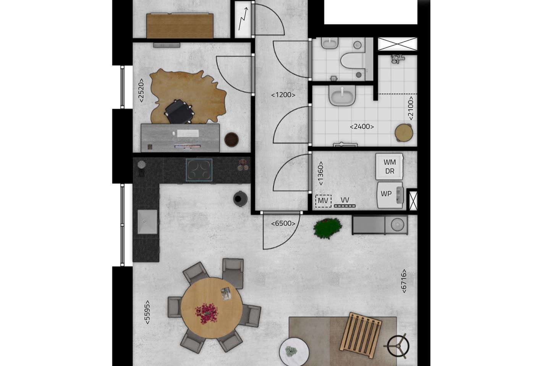 Bekijk foto 5 van De Stippe Appartement 6 A