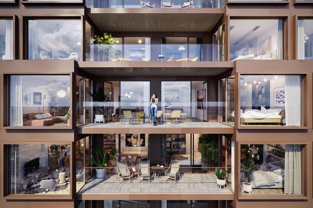 Bekijk foto 1 van Prime Apartments 19- (Bouwnr. 10)
