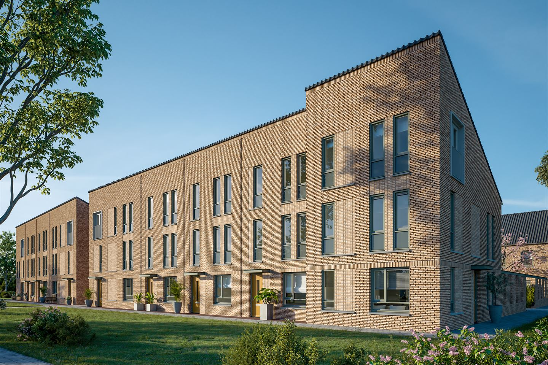 Bekijk foto 2 van De Nobelstraat - Huurwoningen (Bouwnr. 46)