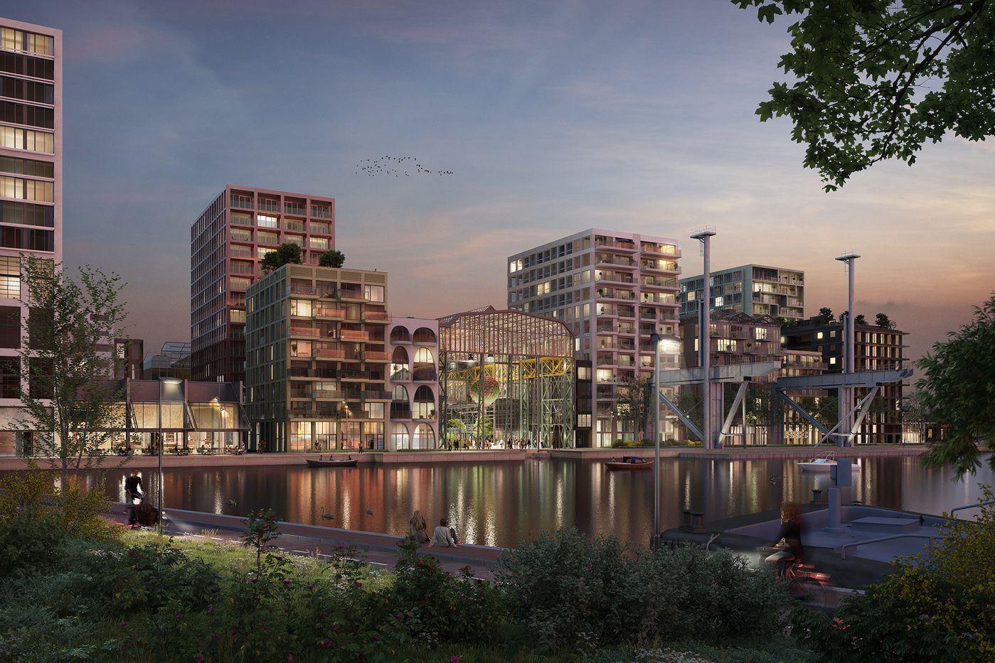 Bekijk foto 4 van Oostenburgermiddenstraat 180 t/m 186